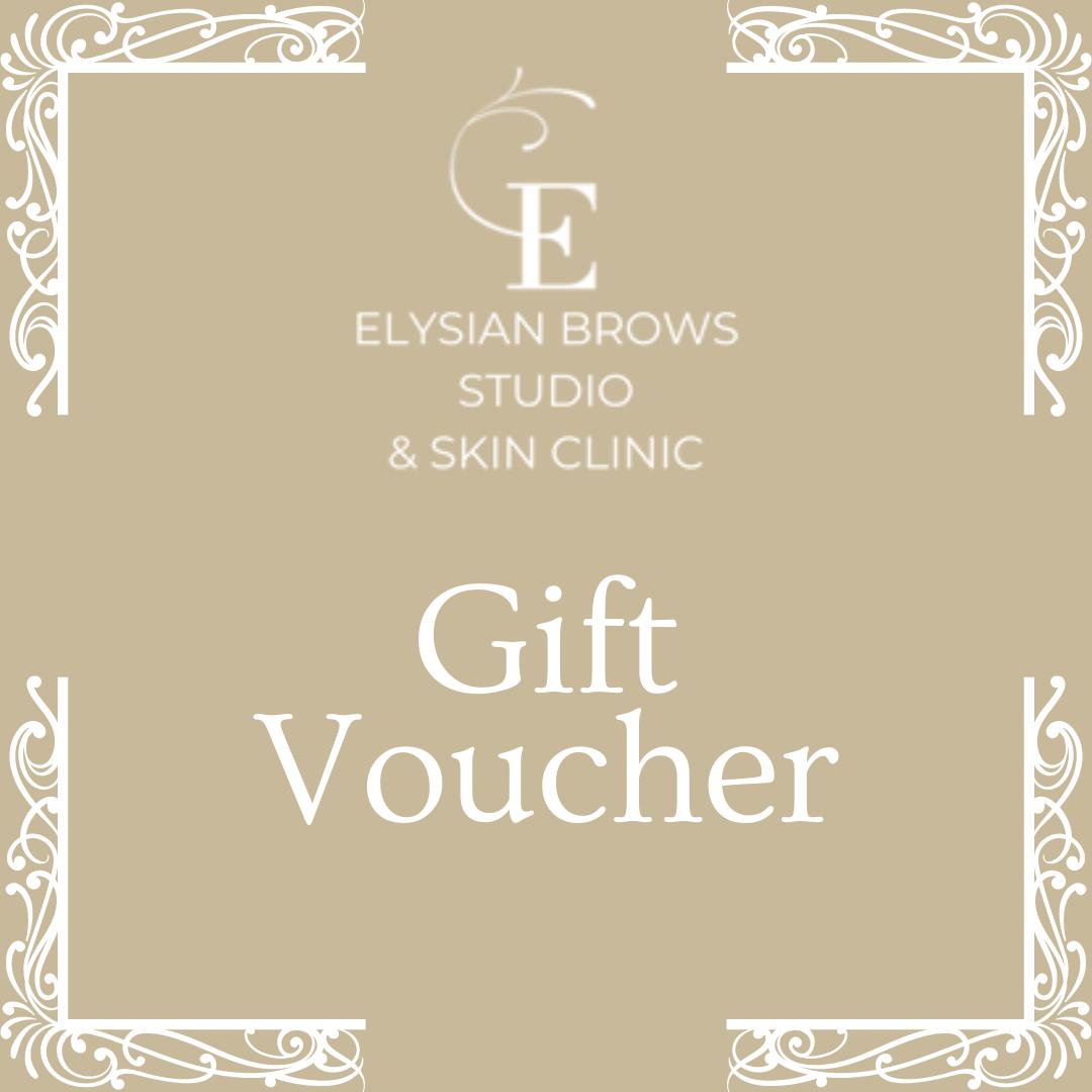 Elysian Brows Studio & Skin Clinic Gift Voucher